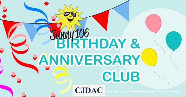 045478cd8a Happy Birthday January 31st - Sunny 106 FM