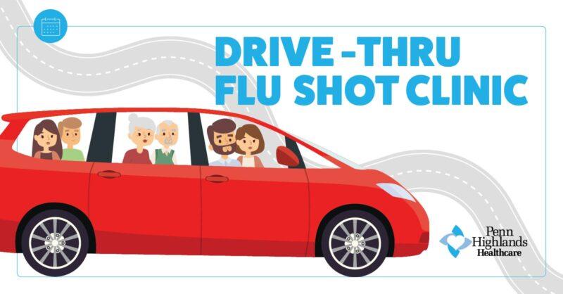 Flu Clinic Drive-Thru
