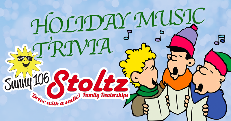 Holiday Music Trivia Banner
