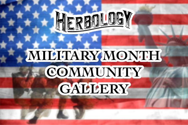 Herbology Military Month Gallery Banner