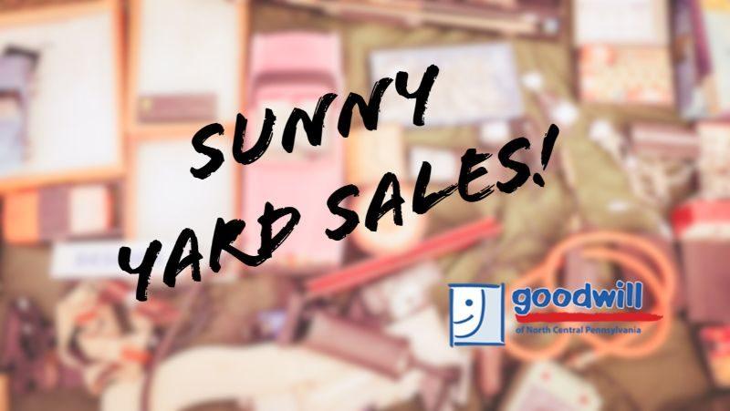 sunny yard sales